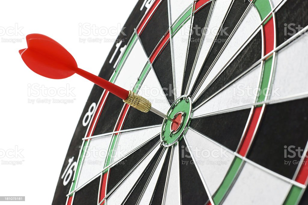 Perfect Target royalty-free stock photo