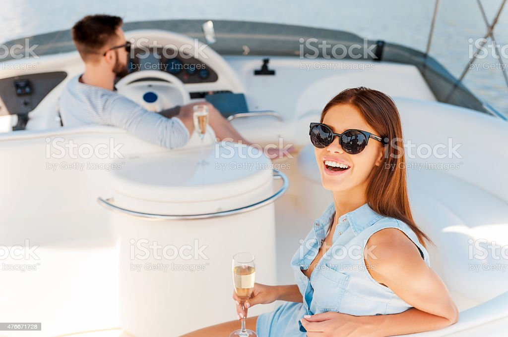 Perfect time together. stock photo