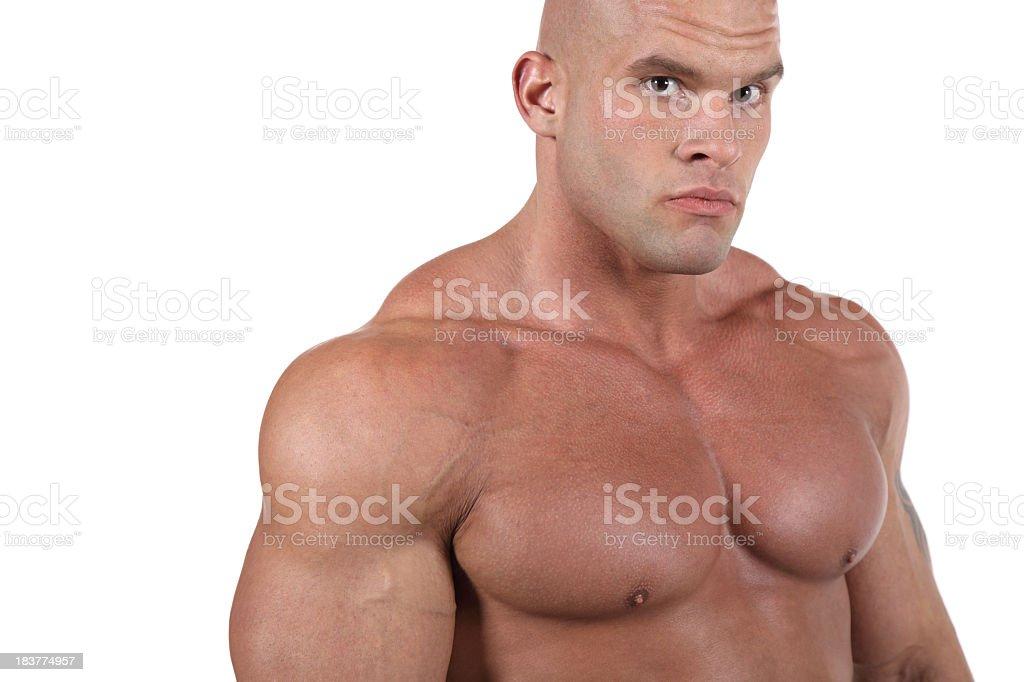 Perfect torso royalty-free stock photo