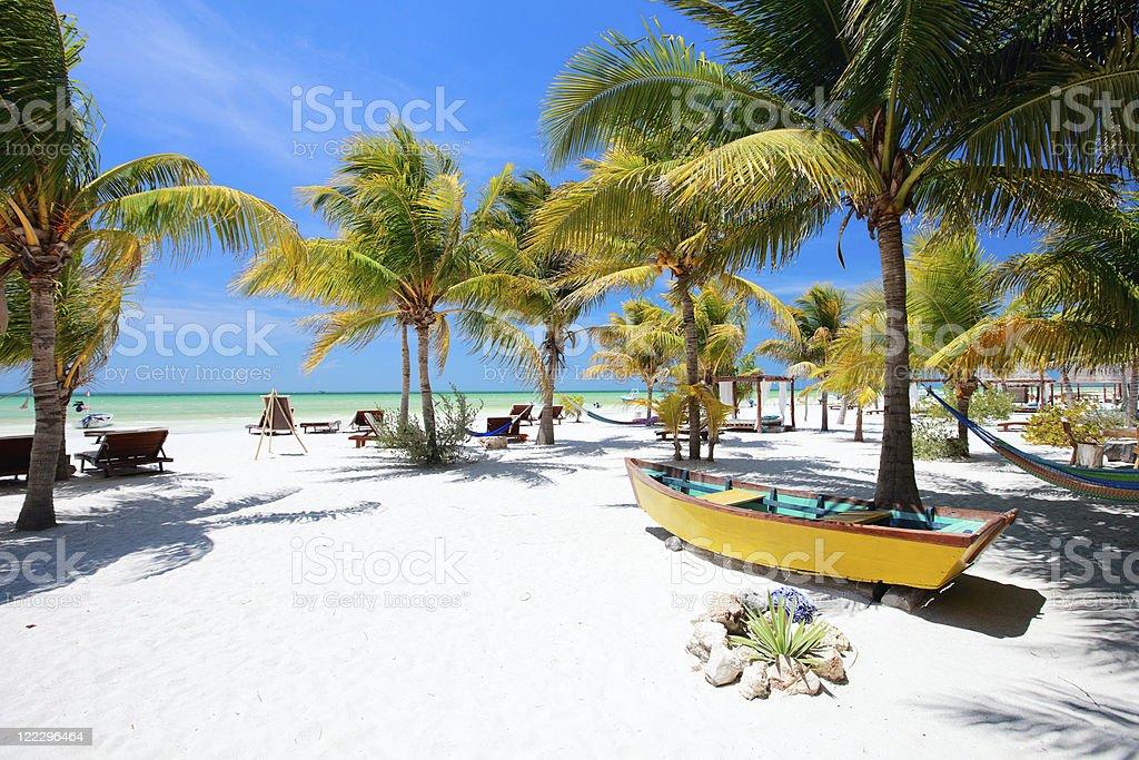 Perfekte tropischer Strand – Foto
