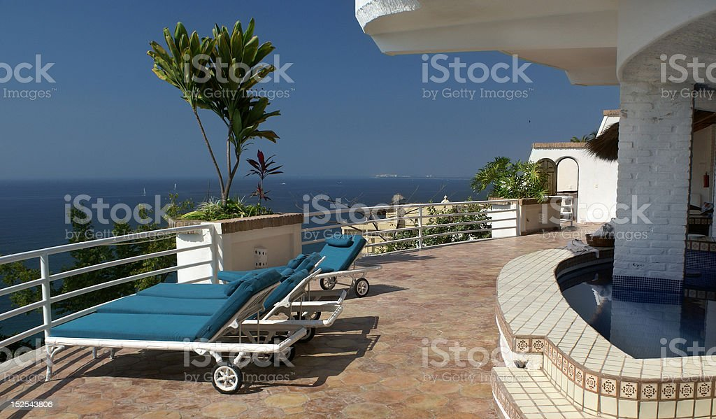 perfect vacation spot royalty-free stock photo
