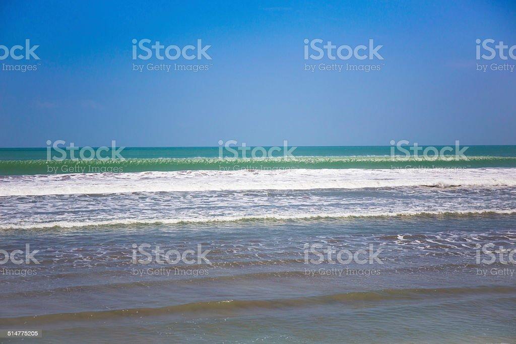 Perfect wave stock photo