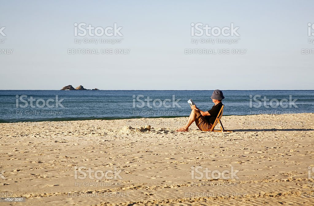 Perfect way to relax on a summer holiday royalty-free stock photo