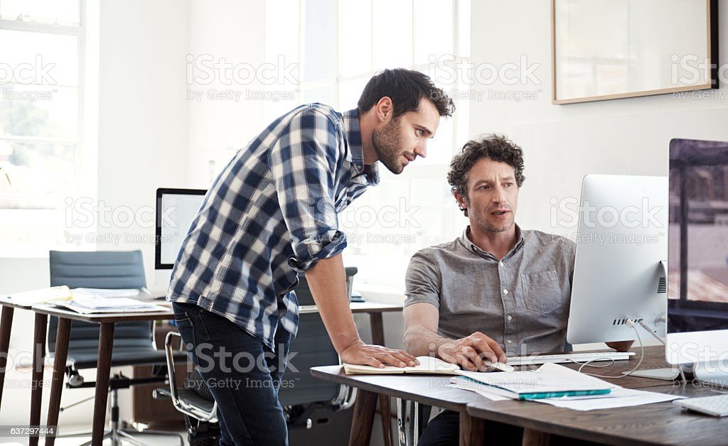 Perfecting every detail stock photo
