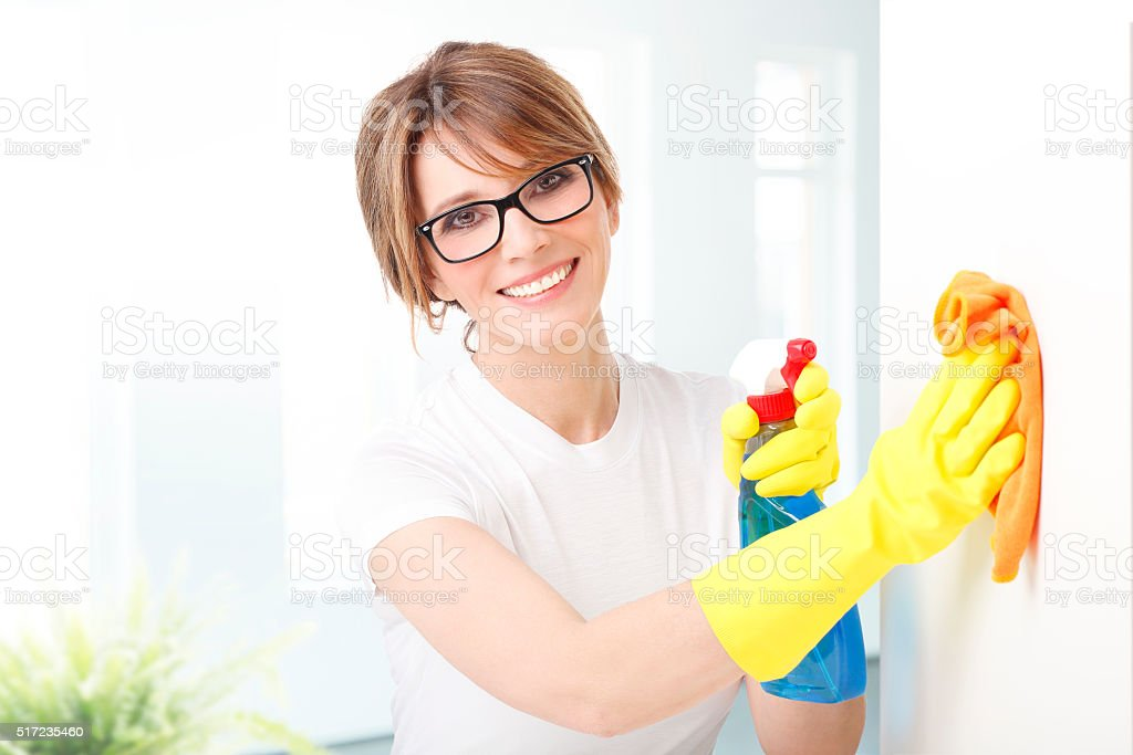 Perfectly clean stock photo