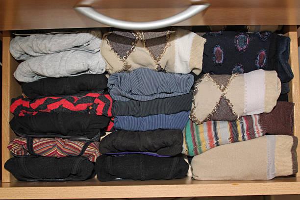 Perfectly folded socks and pants – Foto