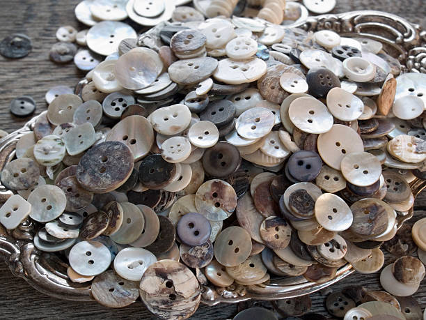 Royalty Free Vintage Mother Of Pearl Buttons Pictures Images And