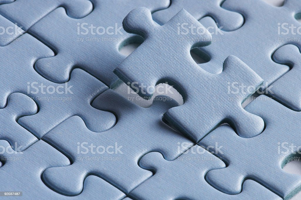 perfectly - just finish it royalty-free stock photo