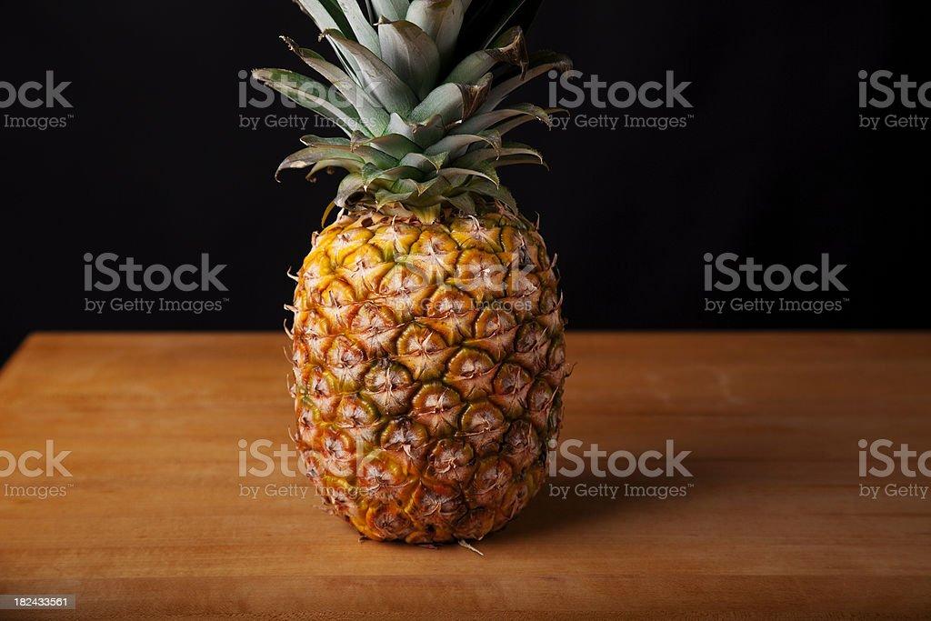 Perfectly ripened Pineapple stock photo