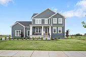 istock Perfectly sized two-story home with lots of charm 1256427095