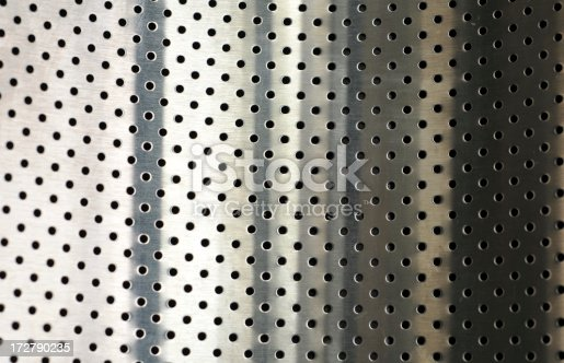 537816275 istock photo perforated sheet of stainless steel 172790235