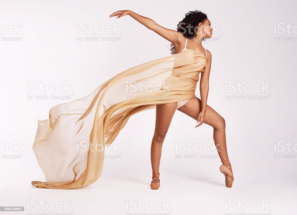 Perform with passion or not at all stock photo