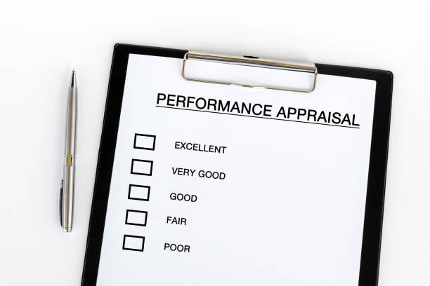 Performance Appraisal Checklist stock photo
