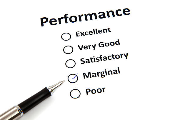 Performance-Bewertungsformular – Foto