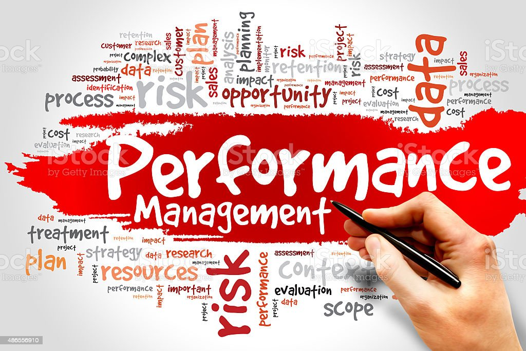 Performance Management stock photo
