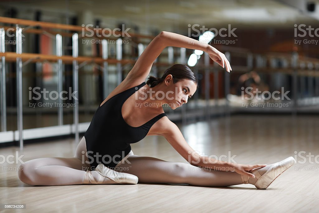 Performance on the floor foto royalty-free