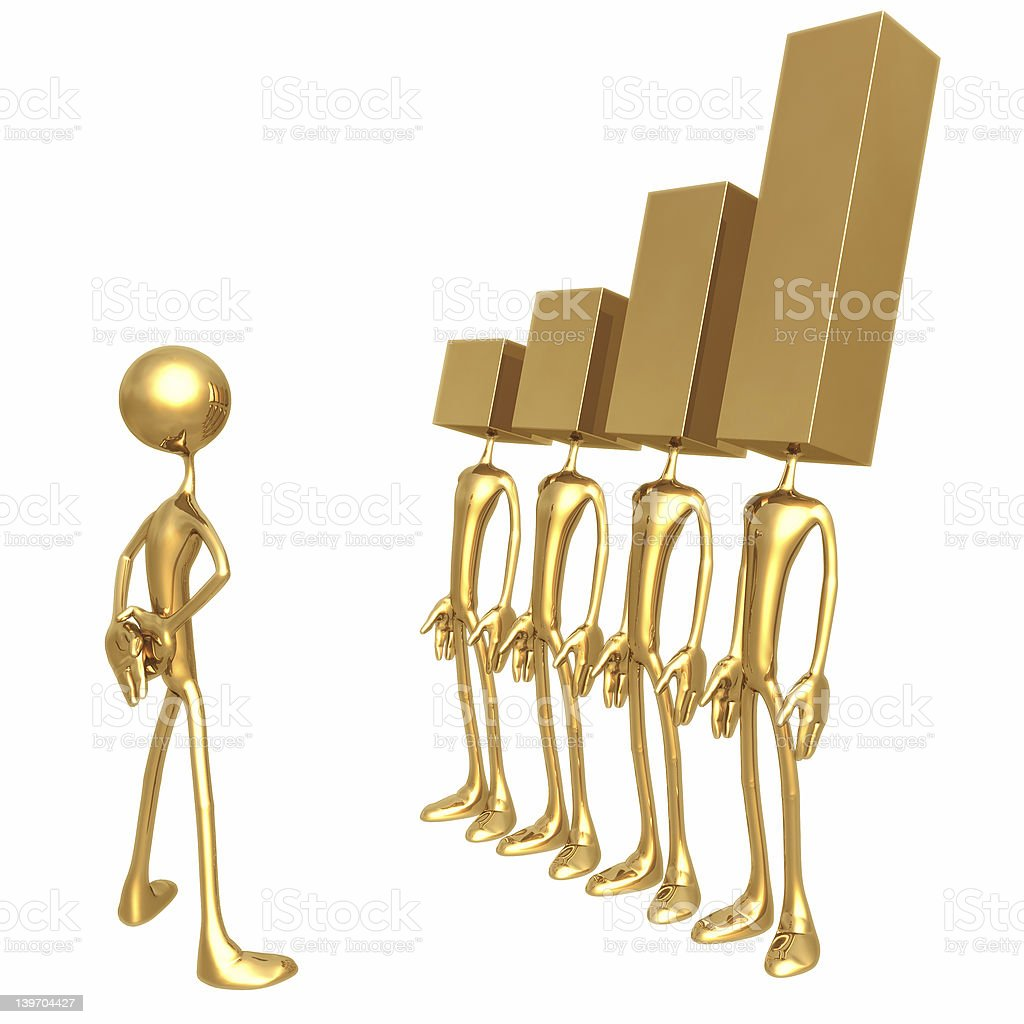 Performance Report 02 royalty-free stock photo