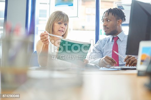 istock Performance review 874290046