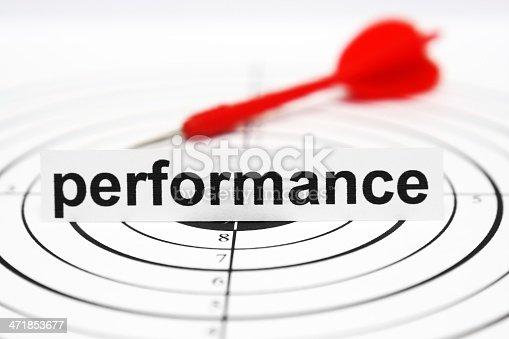 istock Performance target 471853677