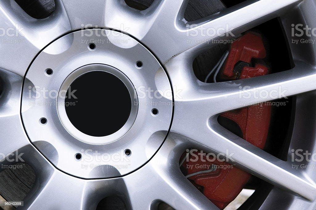 Performance Wheel royalty-free stock photo