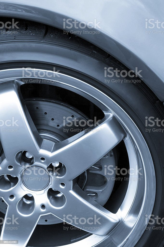 Performance Wheel/Tire royalty-free stock photo
