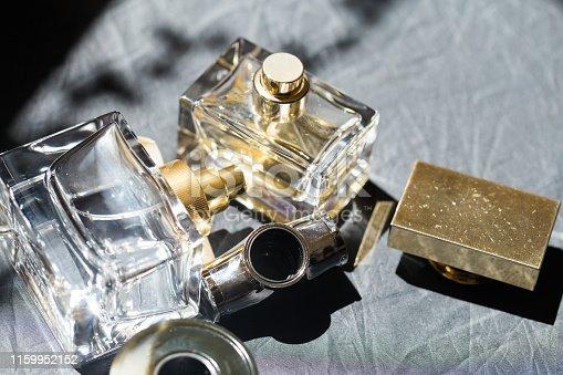 perfume bottle in the sun - Image.
