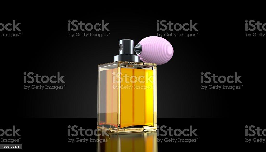 Parfymflaska - Royaltyfri Aromaterapi Bildbanksbilder