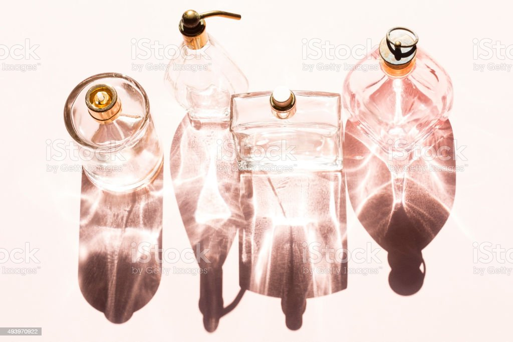 Frascos de Perfume - foto de stock