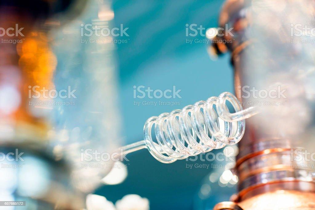 Parfüm-Brennerei-Glasrohr – Foto