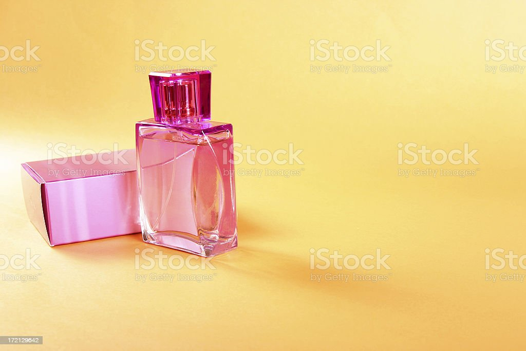 Perfume for women stock photo