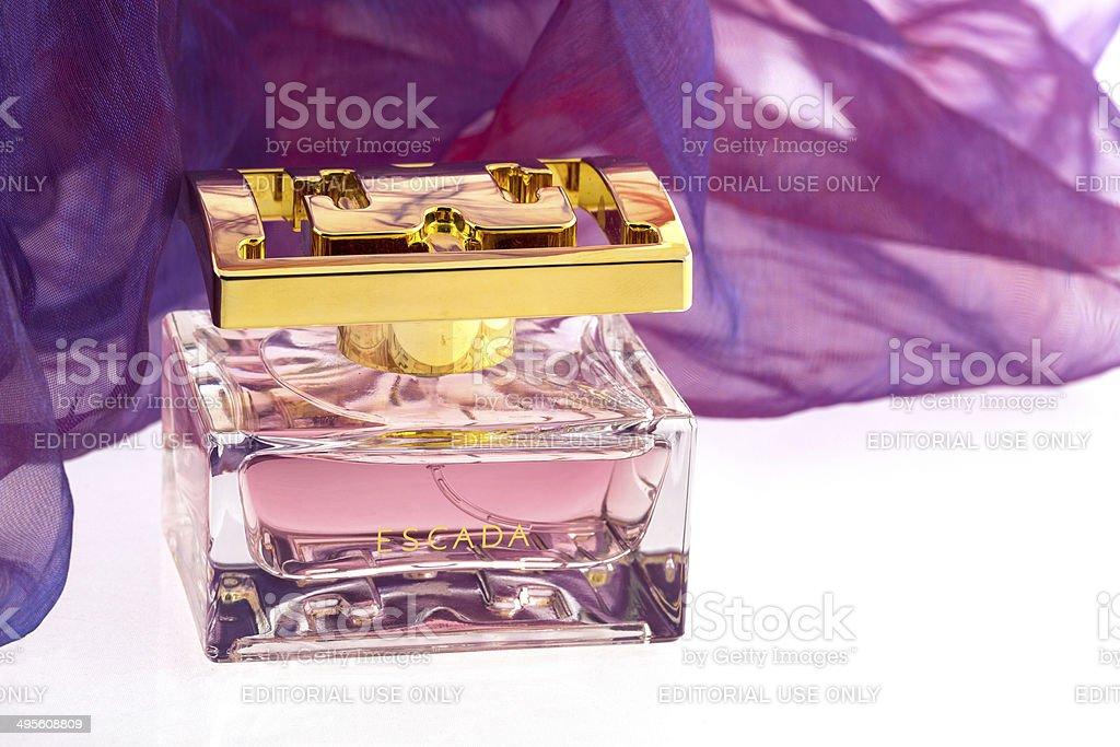 Escada perfume stock photo