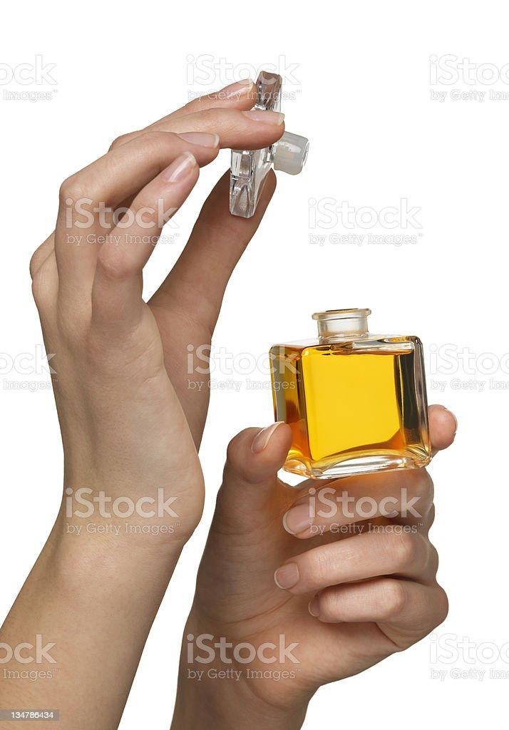 Perfume royalty-free stock photo