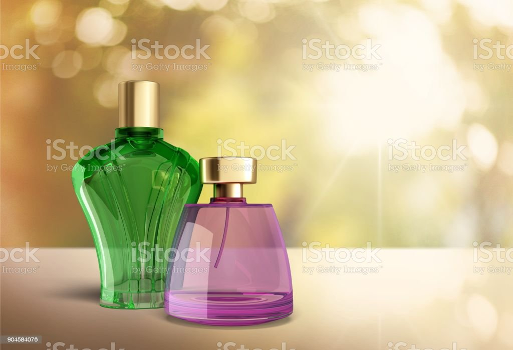 Perfume. stock photo