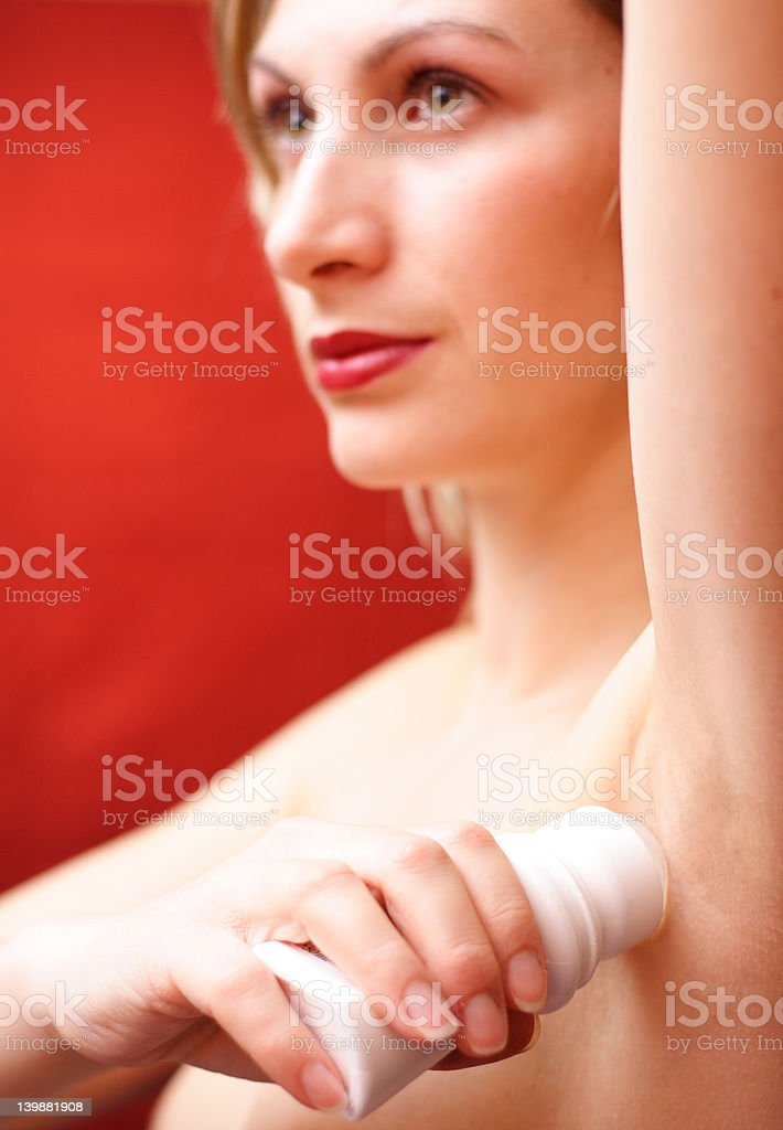 Perfume - roll-on royalty-free stock photo
