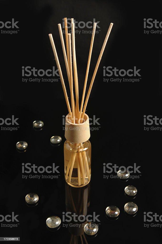 Perfume sticks royalty-free stock photo