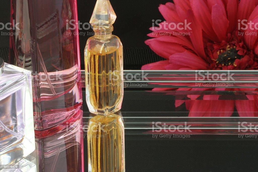 perfume tray royalty-free stock photo