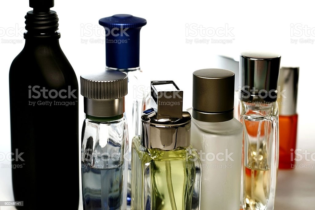 Perfumes and Fragrances stock photo