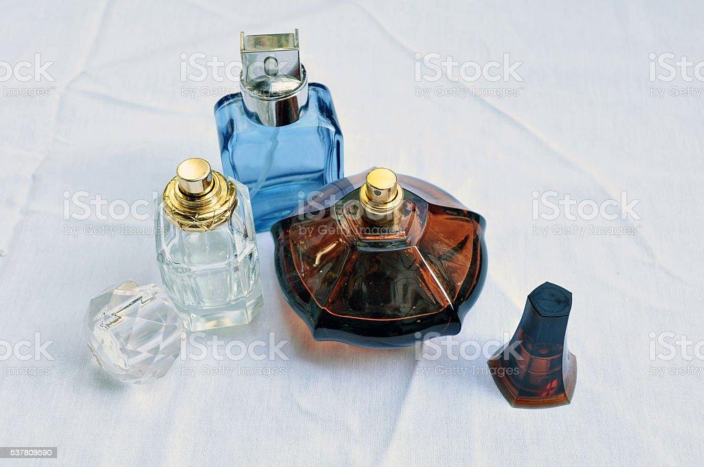 Perfumes isolated stock photo