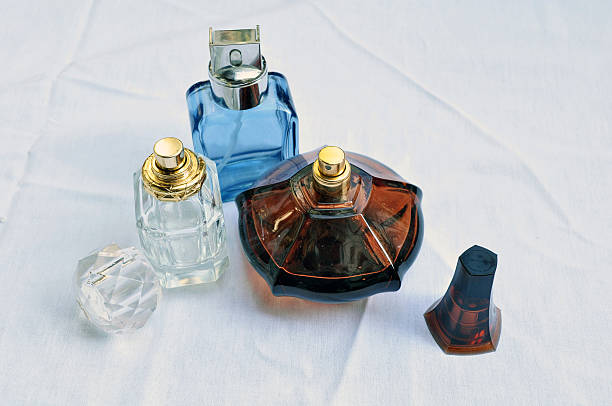 Perfumes isolated stock photo