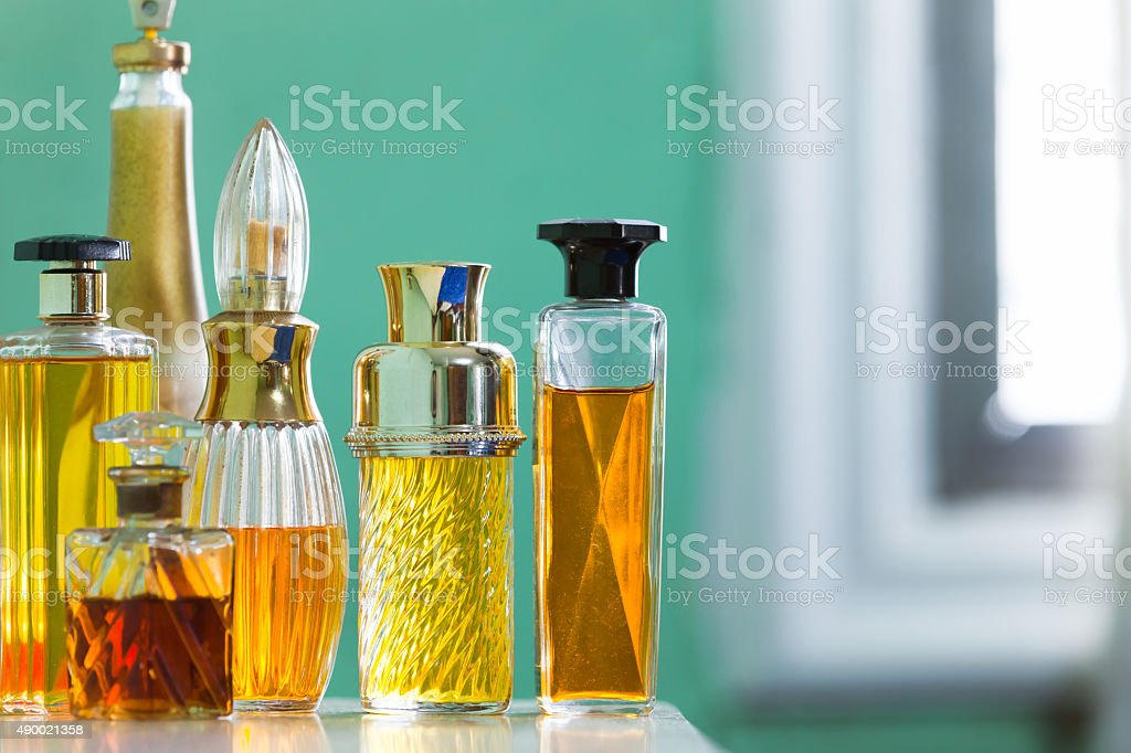 Perfumes stock photo