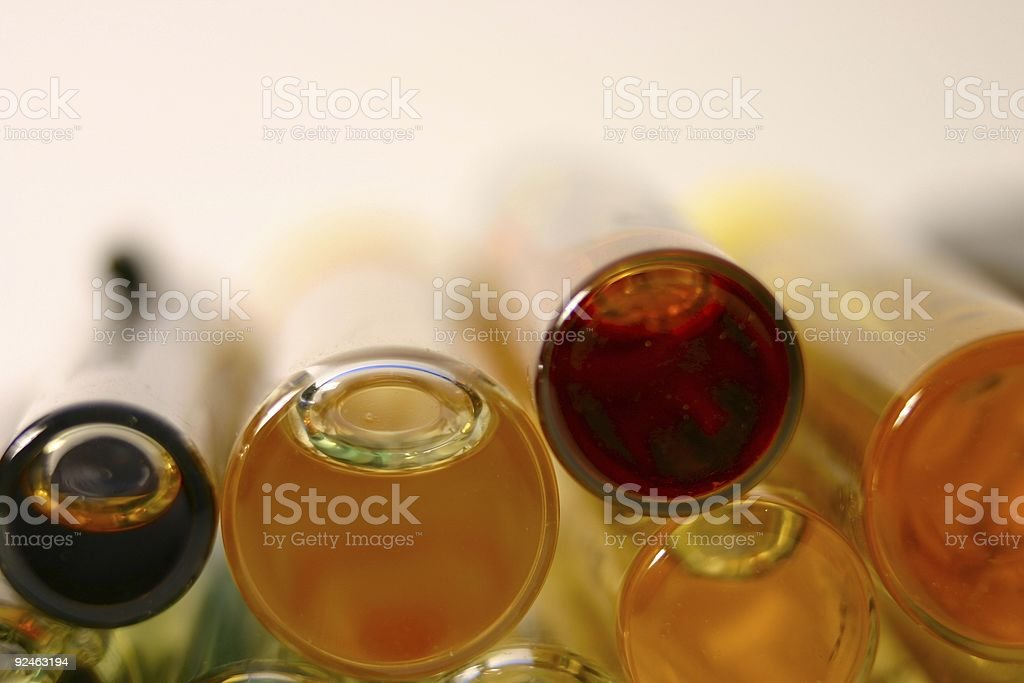 Perfums closeup royalty-free stock photo