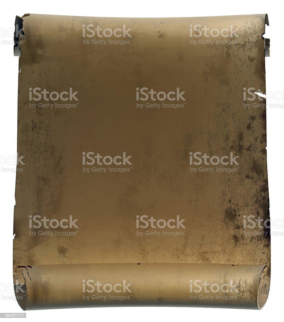 Pergament royalty-free stock photo