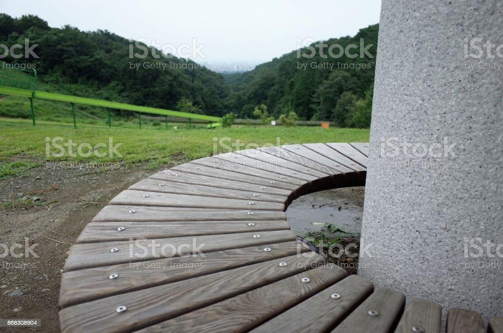 Photo libre de droit de Pergola Banc Dans Le Parc banque d ...