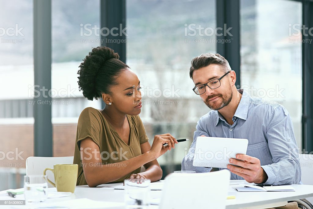 Perhaps we could make some improvements to this... stock photo