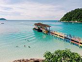 Perhentian Island Jetty, Terengganu, Malaysia. Holidays