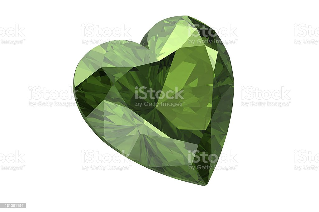 Peridot royalty-free stock photo