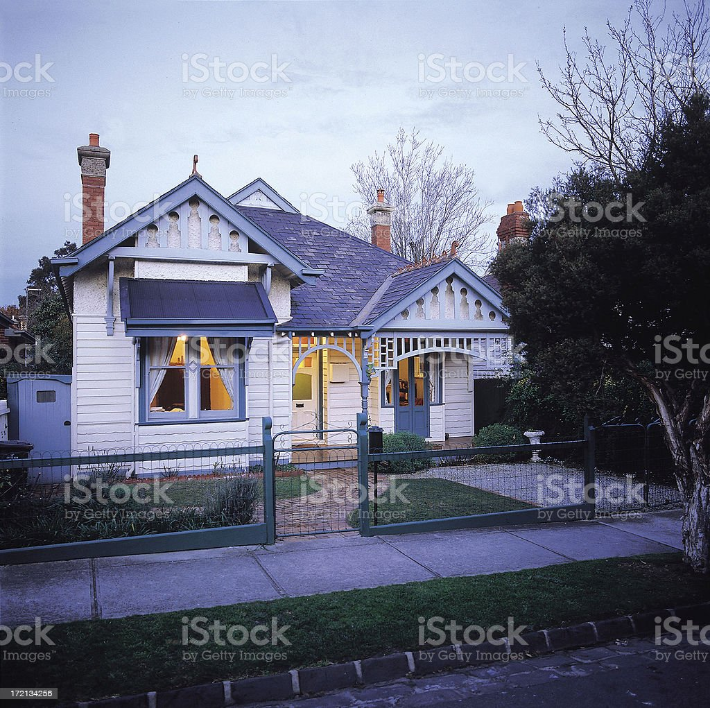 Period house royalty-free stock photo