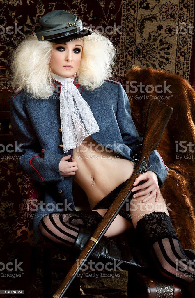 Period Military Fashion stock photo