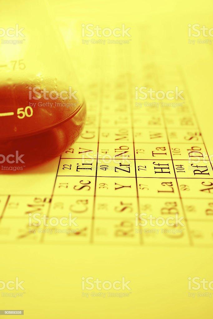 Periodic Elements royalty-free stock photo