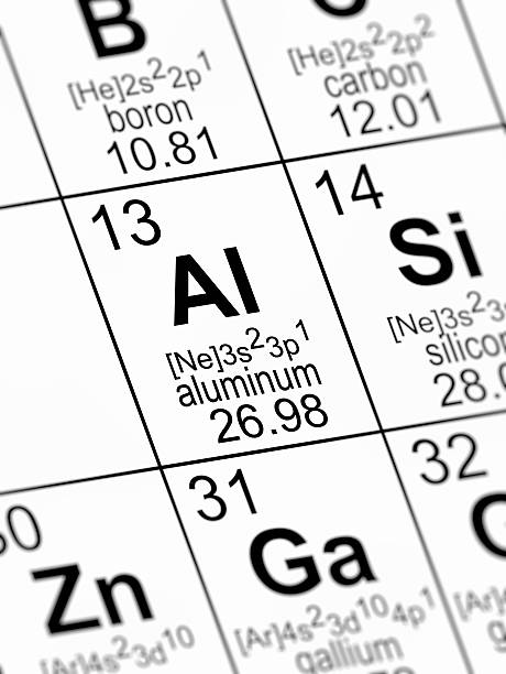 Royalty free aluminum periodic table science chemistry pictures aluminum periodic table science chemistry pictures images and stock photos urtaz Gallery